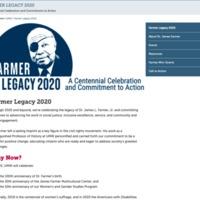 James Farmer Legacy (2020)