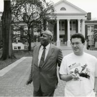 James Farmer and Student Rich Cooper